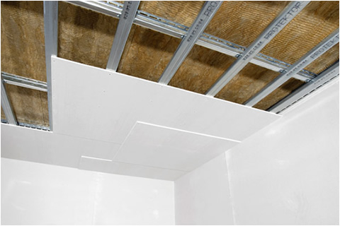 Как сделать гипсокартон на потолок